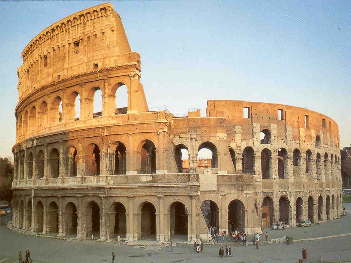 Social structure in the colosseum
